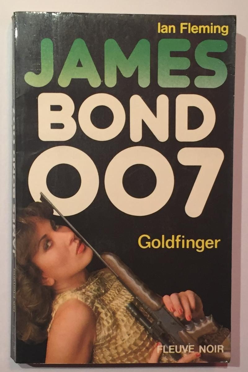 roman James Bond 4 - Goldfinger
